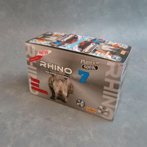 Rhino7 Platinum 500K – Male Enhancement Single Pill – 24 Counts Per Box