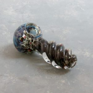 """4"""" Heavy Twist Inside-Out Spoon-Style Glass Hand Pipes"""