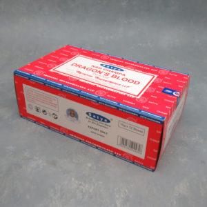 12pk Dragon Blood Nagchampa Incense Sticks (15g packs)