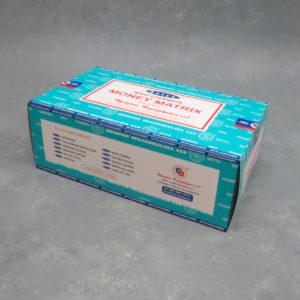 12pk Money Matrix Nagchampa Incense Sticks (15g packs)