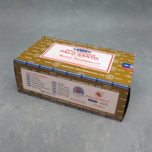 12pk Palo Santo Nagchampa Incense Sticks (15g packs)