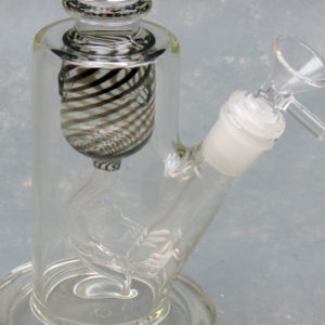"""8"""" Chamber Recycler Glass Water Pipe/Rig w/Difused Downstem"""