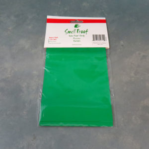 """5"""" x 7"""" Smell Proof/Water Proof BPA-free Polypropylene Bags w/Aluminum Interior and Sealing Strip (3 Bags)"""