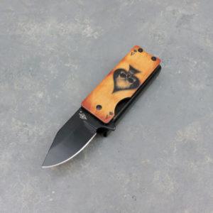 "1.5"" Ace of Spades Lighter Knife"