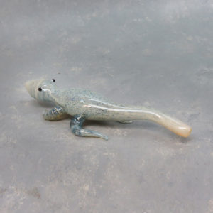 """9"""" Smooth Lizard Glass Hand Pipe w/Carb"""