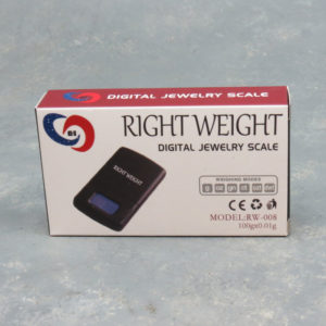 Right Weight RW-008 Digital Jewelry Scale 100g x 0.01g