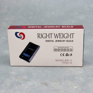 Right Weight RW-12 Digital Jewelry Scale 1000g x 0.1g