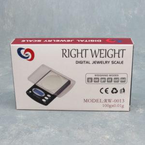 Right Weight RW-13 Digital Jewelry Scale 100g x 0.01g