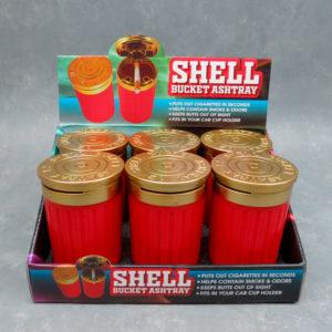 """4.25"""" Shotgun Shell Plastic Ashtrays"""