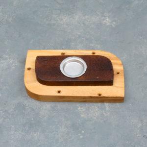 "4"" Assorted Dual Function (Stick & Cone) Incense Burner Blocks"